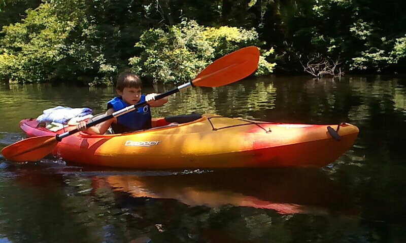 Jacob Paddling